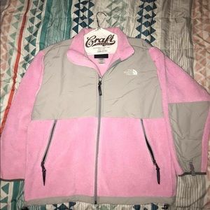 Pink Northface Perfect Condition